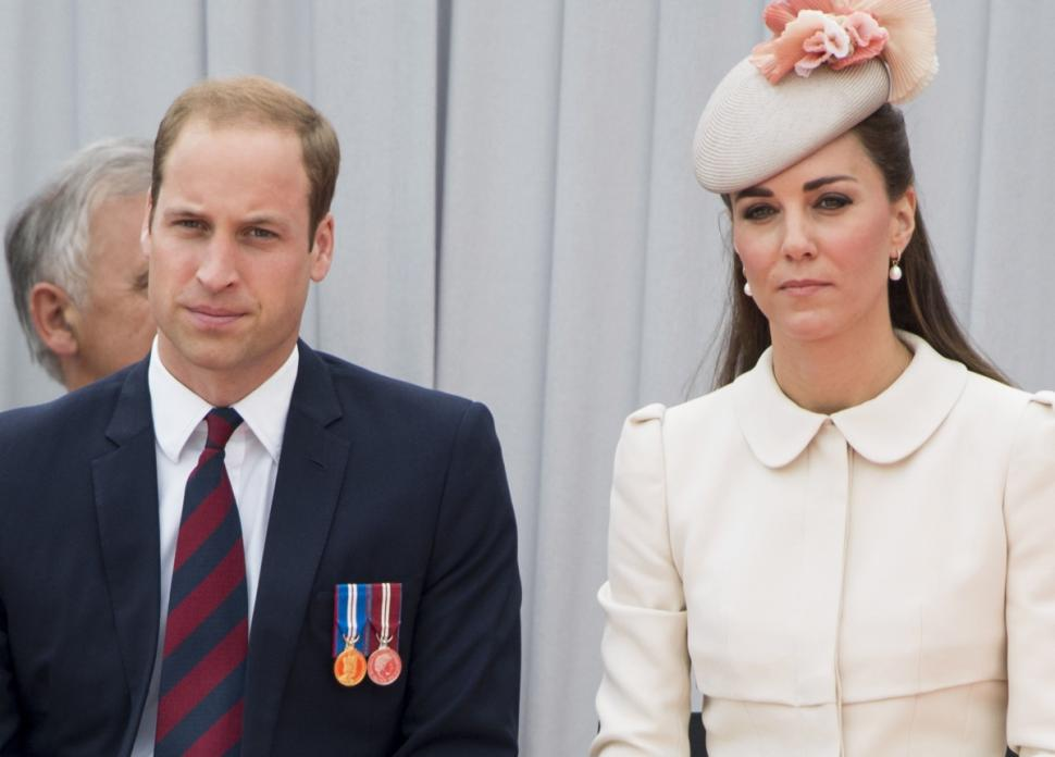 Kate Middleton (r.) was absent from the list.