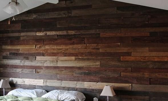 Дощатая стена из поддонов бюджетно, дом, идеи, креатив, ремонт, своими руками, советы, фото