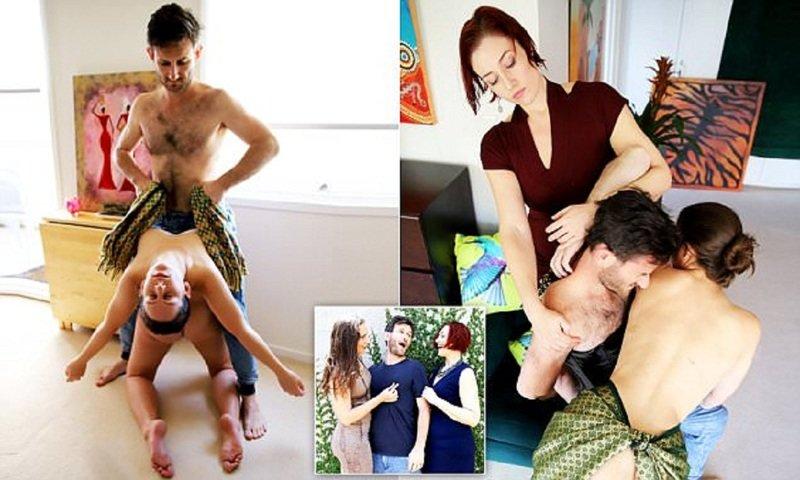 Друзья из Сиднея организовали клуб эротических экспериментов