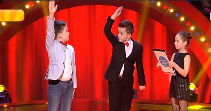Одесский юмор этих детей взорвал зал и принес им 50 000 выигрыша. Комики чуть со стульев не попадали от смеха!