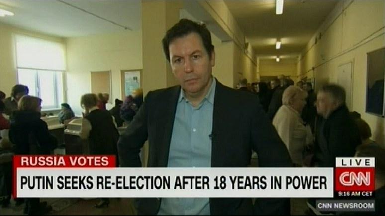 CNN удивился энтузиазму избирателей на выборах президента России