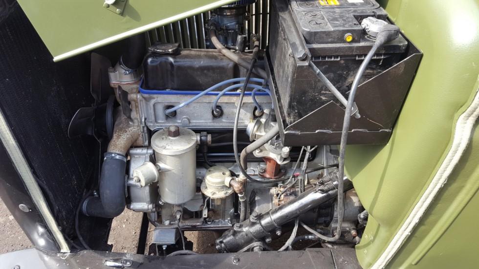 ГАЗ-АА двигатель