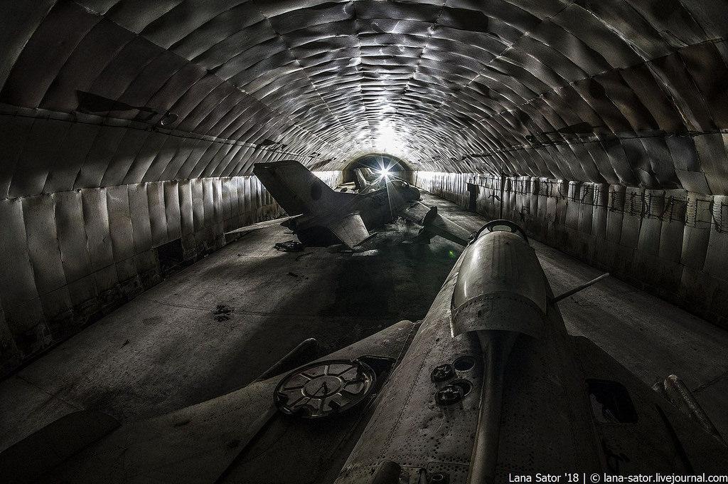 Заброшенные подземные авиабазы Восточной Европы