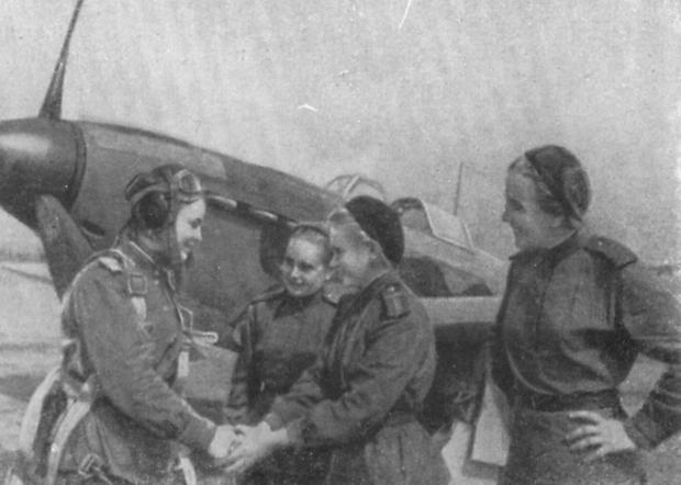 Слева направо: Тамара Памятных, Рита Кокина, Евгения Борак, Ирина Фаворская
