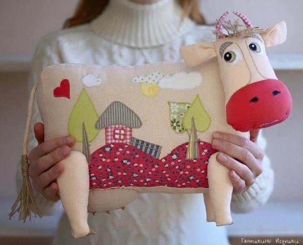Подушки - игрушки своими рук…