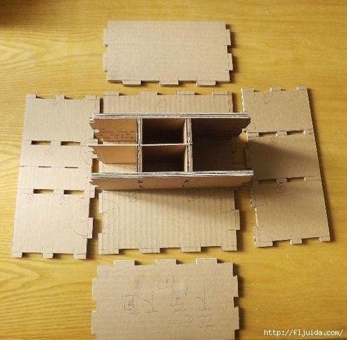 Что можно сделать картона своими руками