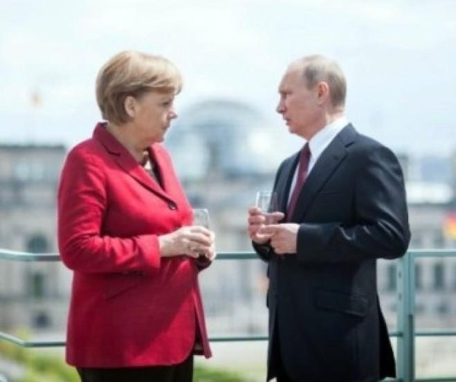 Путин – Меркель: двойное пре…