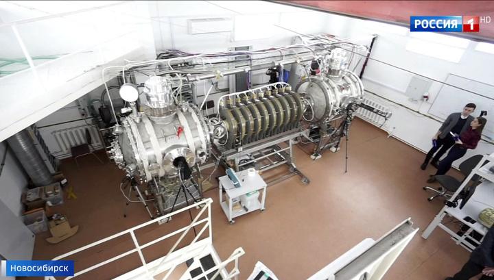 В Новосибирске экспериментируют с двигателем, позволяющим полететь на Луну и Марс.