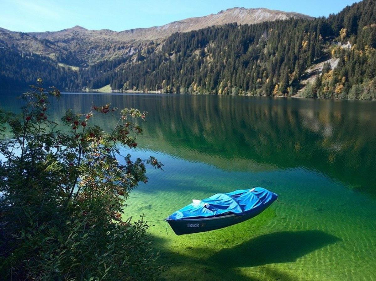 4. Зеленое озеро. 9 уникальных озер