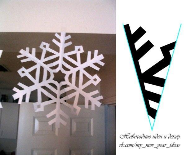 Схемы самых красивых снежинок. Уже пора готовиться.... дорогие мои