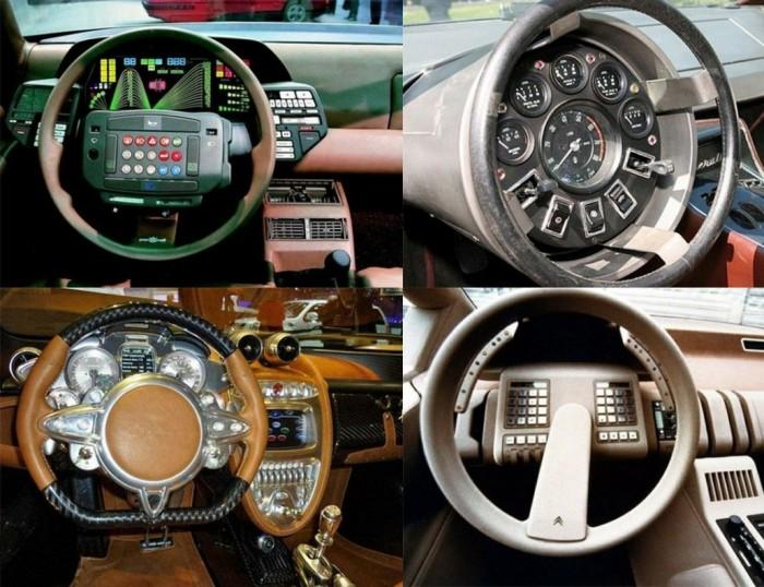 Эволюция панелей управления автомобилей