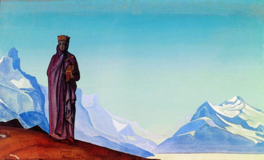 Великий русский художник-философ Николай Рерих горы, искусство, художник