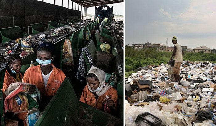 Огромный город-свалка: Как Европа засыпает мусором один из крупнейших городов в Африке