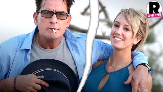 Charlie Sheen Splits With Porn Star Fiancée Brett Rossi