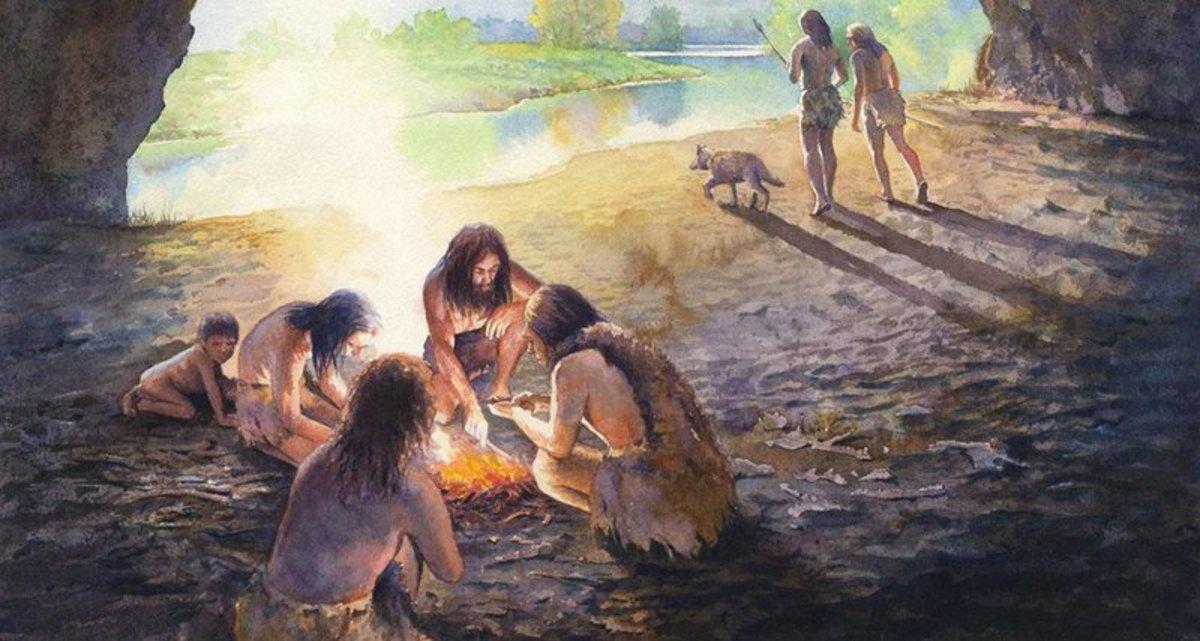 Люди ели растительную пищу даже 120 тысяч лет назад