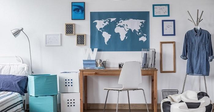 Как оформить учебную зону в комнате школьника