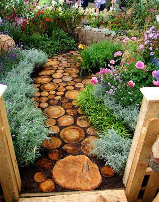 Все для интерьера сада своими руками