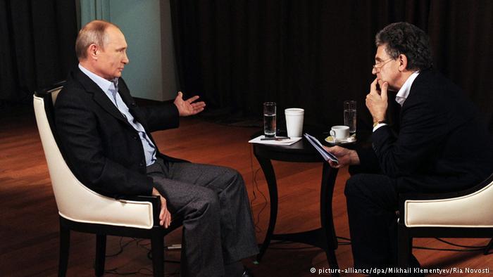 Путин в интервью ARD: Россия не нарушала международное право в Крыму