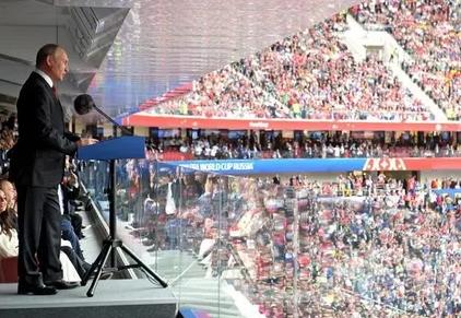 Путин поблагодарил гостей ЧМ за разрушение антироссийских мифов