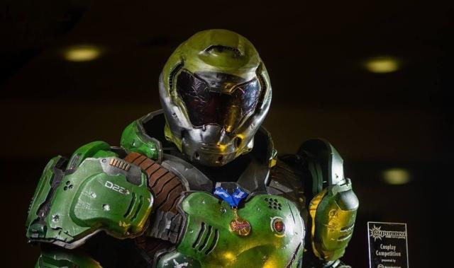 Как косплеер создал костюм главного героя DOOM за две с половиной недели