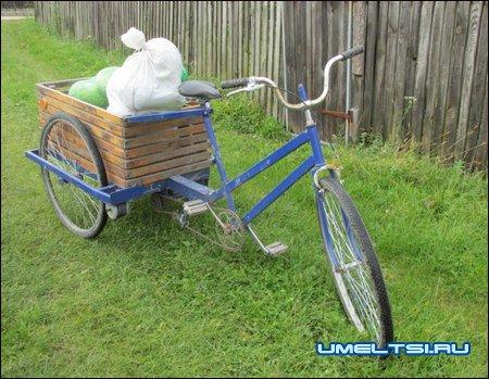 Грузовой велосипед-стремянка