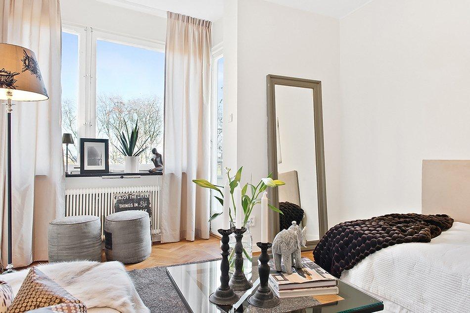 Как обустроить крошечную квартиру: 23 квадратных метра комфорта и уюта