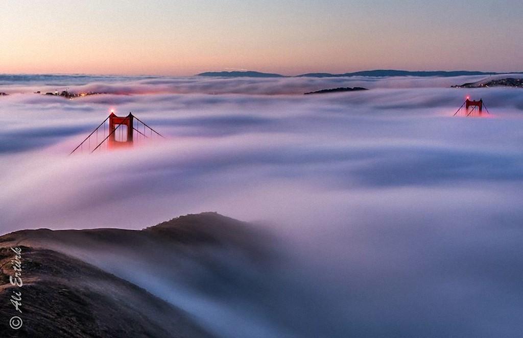 GoldenGate02 Золотые Ворота — самый фотографируемый мост в мире