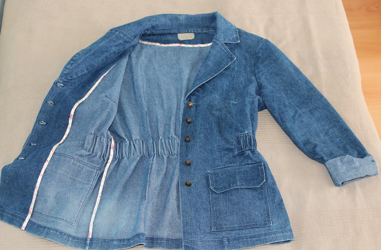 Джинсовая куртка. Мастер-класс / как сшить джинсовую курточку