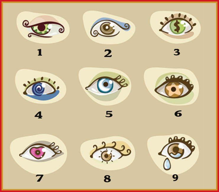 Выберите глаз — и узнайте ко…