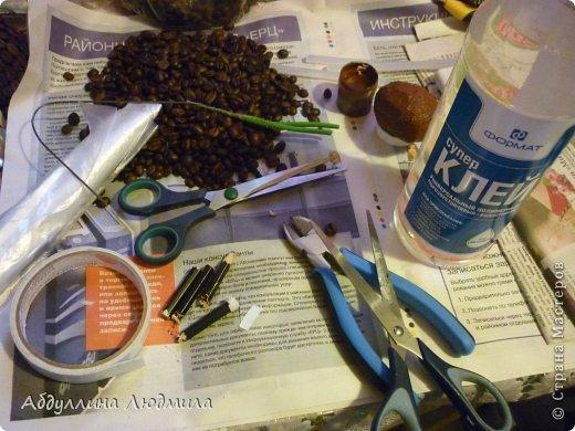 Мастер-класс Поделка изделие Новый год Моделирование конструирование Овечка Стеша кофейная  Кофе Шпагат фото 5