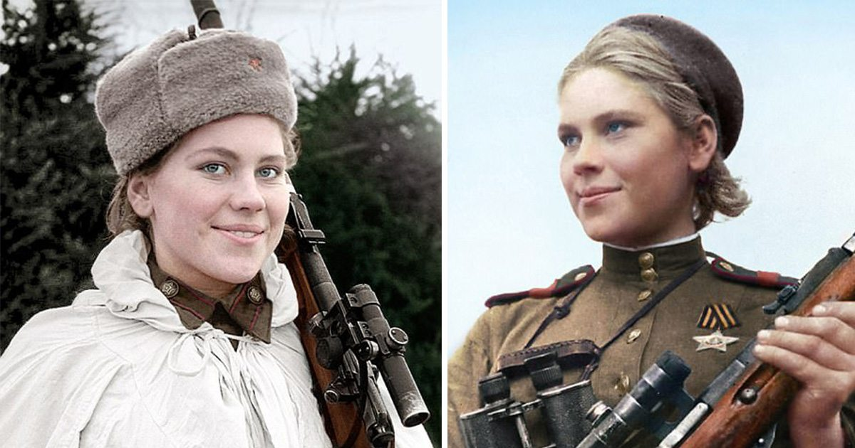 5 самых результативных советских женщин-снайперов ВОВ