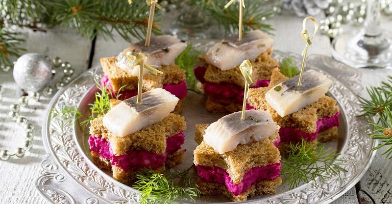 Какие бутерброды приготовить на праздничный стол