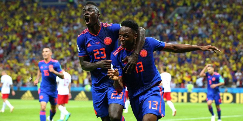 Сборная Колумбии оставила Польшу без шансов на выход в плей-офф ЧМ