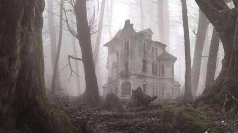22. Заброшенный дом в лесу заброшенные места, крипи, прикол, ужас