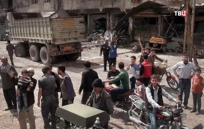Более 200 человек вернулись в свои дома в сирийской провинции Хомс