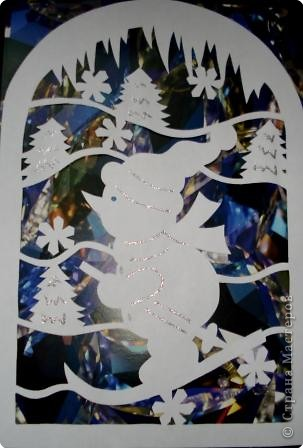 Вырезание: Новогодние мотивы Бумага Новый год. Фото 1