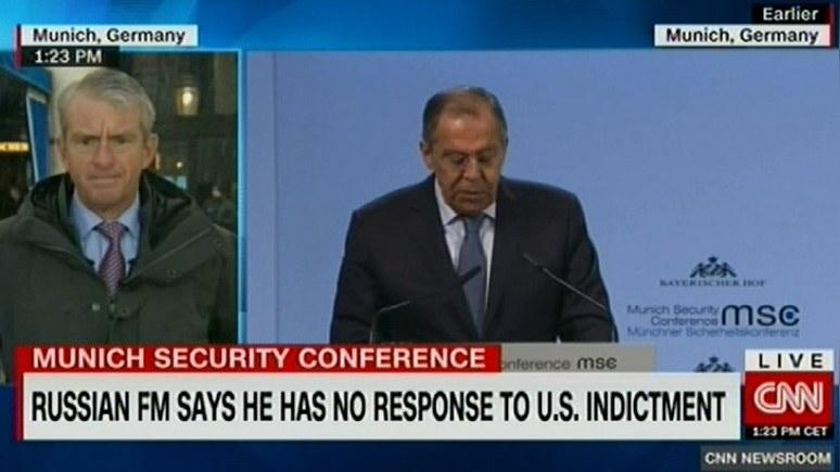 CNN: Лавров назвал разговоры…