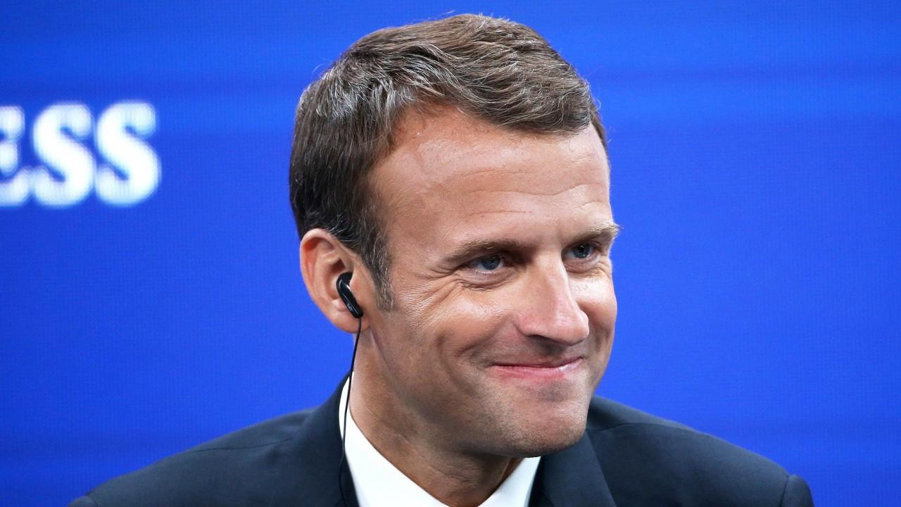 Франция назвала условие участия Макрона в четырехстороннем саммите по Сирии