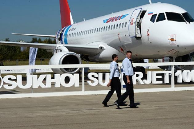Иран покупает 40 российских авиалайнеров SSJ-100.