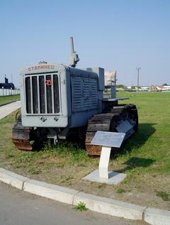 203 мм гаубица Б-4 (экспозиция технического музея ВАЗа)