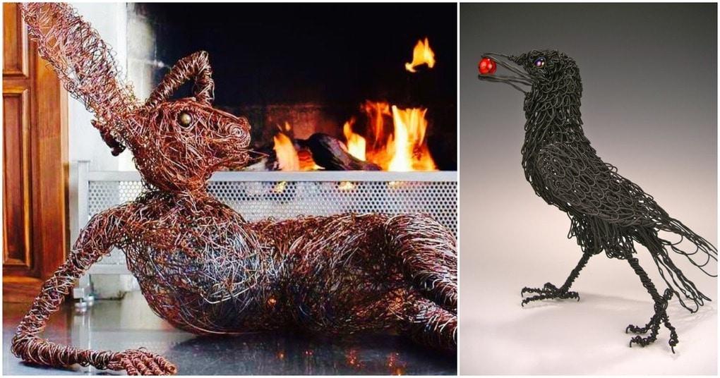 Когда обломки оживают: необычная скульптура Джоша Котэ