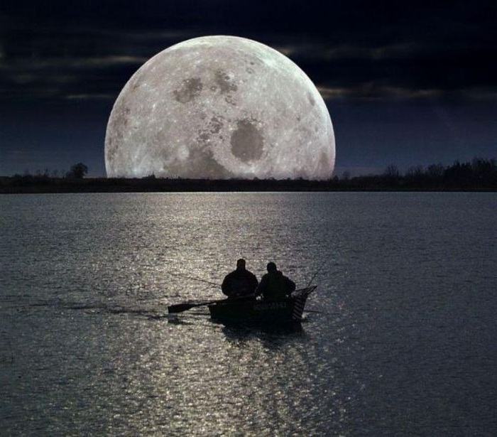 клев на растущую луну