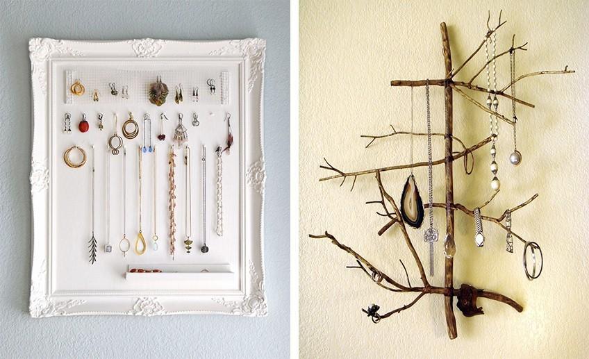 5 DIY держателей для украшений