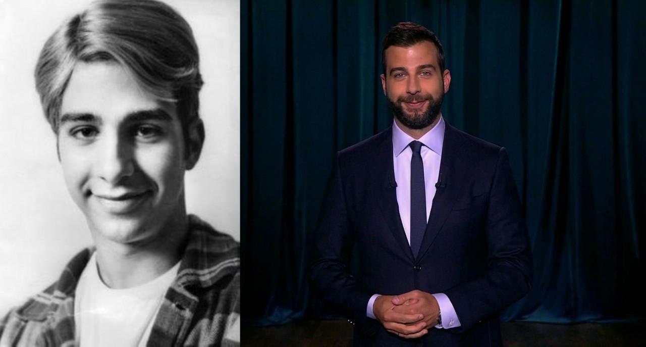 Иван Ургант (39 лет) люди, телеведущие, телевизор, тогда и сейчас