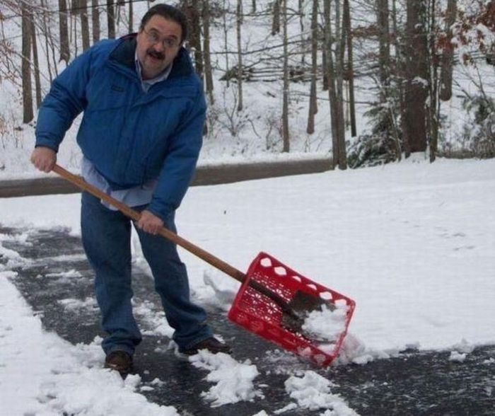 Для себе снег чистки самодельный