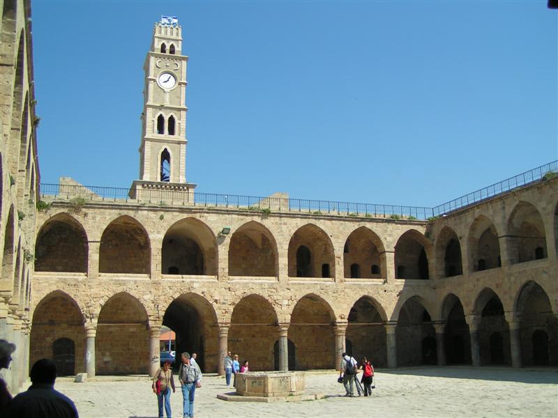 Монастырь ордена Госпитальеров в Акко