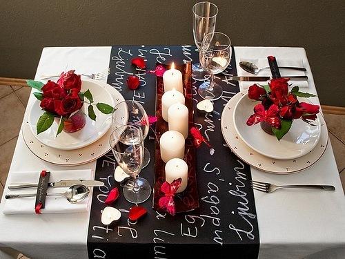 Сервировка праздничного стола своими руками с фото