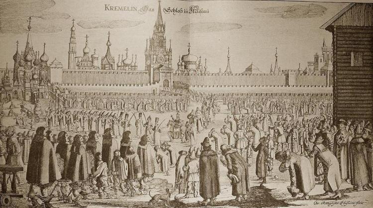 Путешествие в Московию. 1698г.