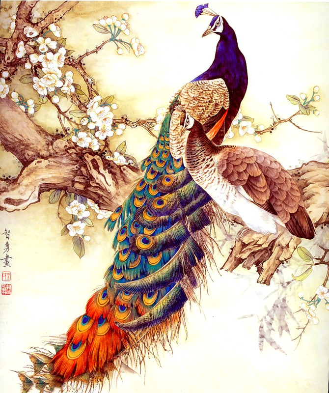 Тема исследования:  Китайская живопись