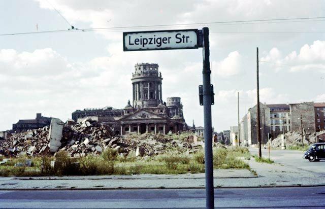 Берлин через 11 лет после войны. Германия. 1956г. интересно, история, фото